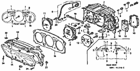 Instrument Cluster Small Parts