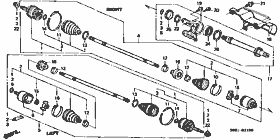 Front Drive / Axle Shaft