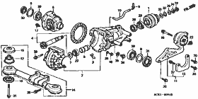 Rear Differential / Support
